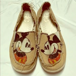 Crocs Mickey Mouse - size 8